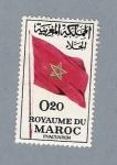 Sellos del Mundo : Africa : Marruecos : Bandera de Marruecos