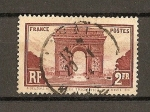 Stamps France -  Arco del Triunfo