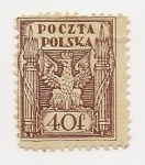 Stamps Poland -  Aguila (Eagle)