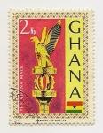 Stamps Ghana -  The Ghana Mace