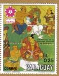 Stamps Paraguay -  Centenario de la Epopeya Nacional 1864-1970