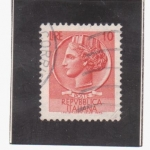 Stamps Italy -  siracusa