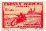 Stamps Europe - Spain -  XIX CENTENARIO DE LA VIRGEN DEL PILAR  903