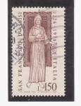 Sellos de Europa - Italia -  s. fco.de assis 1226