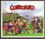 Stamps America - Chile -  CONDORITO  Y  SUS  PERSONAJES