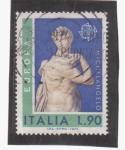Sellos de Europa - Italia -  europa cept