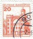 Stamps Germany -  ALEMANIA 1979 (Y842) Serie basica. Alemania Federal (DBP) Serie Castillos 300