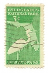 Stamps United States -  Everglades National Park