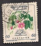 Sellos del Mundo : America : Colombia : FLORES: Passiflora mollissima.