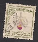 Sellos del Mundo : America : Colombia : Orquídeas Colombianas:Cattleya chocoensis.