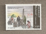 Stamps Europe - Greenland -  Perforaciones