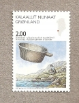 Sellos de Europa - Groenlandia -  Escenarios