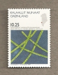 Stamps Europe - Greenland -  Cianobacterias
