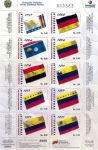 Sellos del Mundo : America : Venezuela : Evolucion Historica de los Simbolos Patrios 1/4