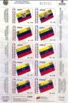 Sellos del Mundo : America : Venezuela : Evolucion Historica de Los Simbolos Patrios 2/4