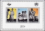 Sellos de Europa - Bélgica -  Belgica 1967 Scott B806 Sello HB Nuevo ** Refugiados ONU Belgique