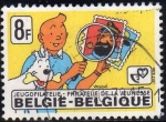 Stamps Europe - Belgium -  Belgica 1979 Scott 1036 Sello Comics Tintin Filatelico usado Belgique