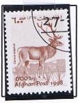Stamps : Asia : Afghanistan :  Ciervo
