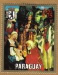 Stamps Paraguay -  Hans Aldung Grien Museo de Berlin