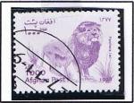 Stamps : Asia : Afghanistan :  Leon