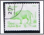 Stamps : Asia : Afghanistan :  Cerdo