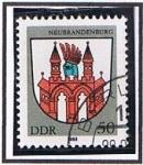 Stamps Germany -  Neubranndenbug