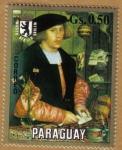 Stamps Paraguay -  Hans Holben Museo de Berlin