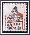 Stamps Germany -  Rathaus Grimma