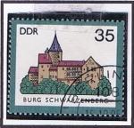 Stamps Germany -  Burg Schwarzenbeg