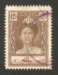 Stamps America - Curaçao -  reina  wilhelmine y vapor simón bolívar