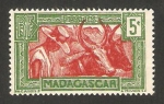 Stamps : Africa : Madagascar :  164 - fauna, cebus