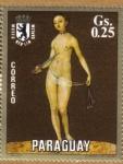 Stamps Paraguay -  L. Cranach Museo de Berlin