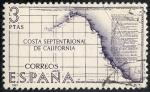 Stamps Spain -  Mapas