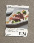 Sellos del Mundo : Europa : Groenlandia : Carne de buey almizcleño