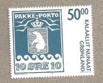 Stamps Europe - Greenland -  Escudo oso polar
