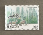 Stamps Europe - Greenland -  Submarinista