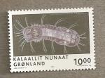 Stamps Europe - Greenland -  Flagelado