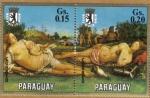 Sellos de America - Paraguay -  P. Di Cisimo Museo de Berlin