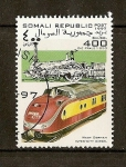 Sellos del Mundo : Africa : Somalia : Trenes / West German Inter-City Diesel