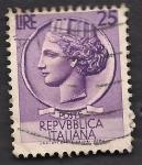 Sellos de Europa - Italia -  Moneda SIRACUSA.