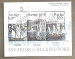 Sellos de Europa - Suecia -  La fortaleza de Suomenlinna