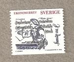 Sellos de Europa - Suecia -  Músico Martin Kraus