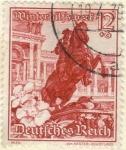 Sellos del Mundo : Europa : Alemania : ALEMANIA 1949 (Y621) III Reich. Paisajes y flora de Austria. Monumento del principe Eugenio y Rosa A