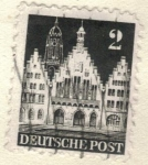 Sellos de Europa - Alemania -  ALEMANIA 1948 (Y) Bi-Zona, Ocpacion Anglo-americana 2 2