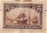 Sellos de America - Canadá -  III Centenario Quebec