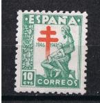 Sellos de Europa - España -  Edifil  1009  Pro Tuberculosis.