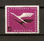 Sellos de Europa - Alemania -  (RFA) Reapertura de la Compañia Lufthansa