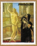 Stamps America - Paraguay -  Sandro Botticelli