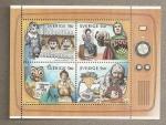 Stamps Sweden -  50 años TV para niños en Suecia