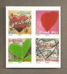 Sellos de Europa - Suecia -  Dia San Valentín